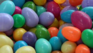 easter eggs, gulf gate church, sarasota florida, siesta key beach