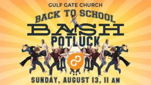 back to school bash, gulf gate church, bounce house, siesta key beach, sarasota florida