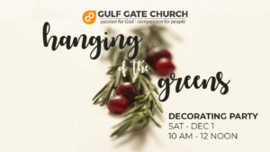 hanging of the greens, Christmas decorations, decoration party