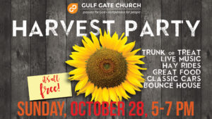 harvest party, gulf gate church, Octoberfest, fall festival