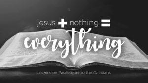 jesus + nothing = everything, sermon series, scott rich, gulf gate church, sarasota florida, near siesta key beach