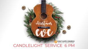Christmas Eve service, candlelight service, acoustic worship, caroling, carols, gulf gate church, near siesta key beach