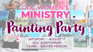 women's ministry, painting party