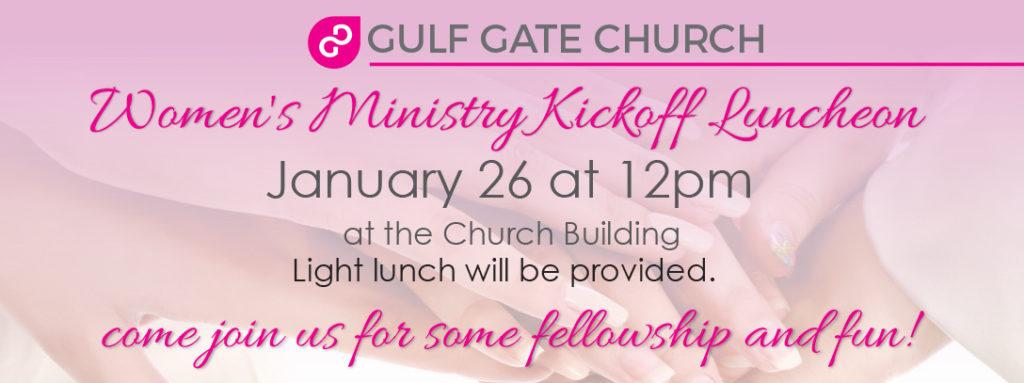 women's ministry, luncheon, gulf gate church
