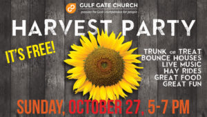 harvest party, fall festival, trunk or treat, hay rides, live music