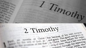 1 and 2 Timothy, bible study