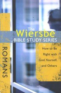 romans, bible study, wiersbe