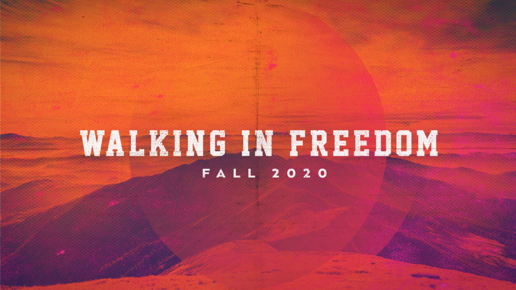 walking in freedom, life group, Chris miller