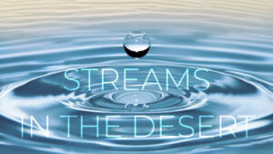 streams in the desert, life group, sermon series, message series