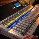 GPro production team, audio mixing, live audio, Yamaha